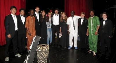 African Musicians wih MSLM - L