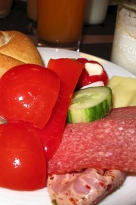 Hotel Mitte breakfast - L