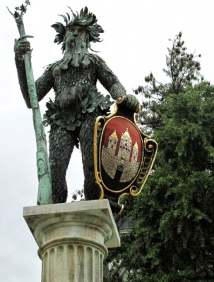 Wildman Statue - Salzburg - L